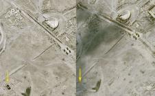 Pléiades : destruction du temple de Baalshamin à Palmyre