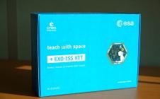Le kit EXO-ISS distribué lors de la mission Proxima