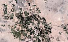 Image de la région de Maricopa, aux Etats-Unis, acquise par Sentinel-2A le 24 juin 2017